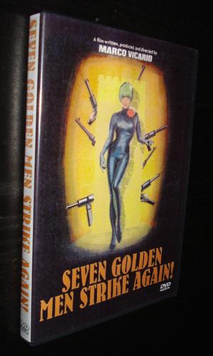 Seven Golden Men Strike Again 1966 Dvd Modcinema